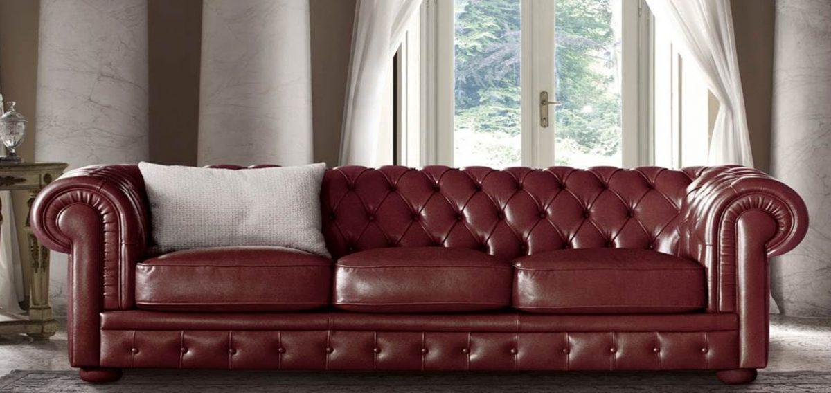 divano in pelle Heliot